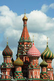 St. Basil's Cathedral Red Square 2007. St. Basil's Cathedral  Cathedral of the Holy Virgin on the Moat, also known as St. Basil's Cathedral - an Orthodox church Royalty Free Stock Image