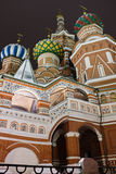 St.Basil's Cathedral on Red Square, Moscow Stock Images