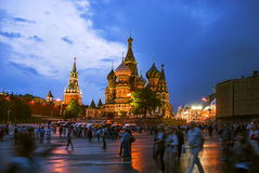 St.Basil`s Cathedral Stock Image