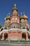 St. Basil's Cathedral on Red square, Moscow, Russi Royalty Free Stock Images