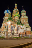 St. Basil's Cathedral on Red Square in Moscow, Russia Royalty Free Stock Photos