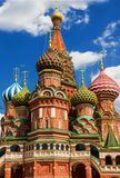 St. Basil's Cathedral on Red Square in Moscow, Russia. Royalty Free Stock Photo