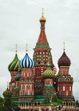 St. Basil's Cathedral. Red Square. Moscow.Russia. St. Basil's Cathedral in Red Square in Moscow.Russia Royalty Free Stock Photos
