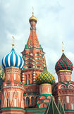 St. Basil's Cathedral on Red Square in Moscow Russia Royalty Free Stock Images