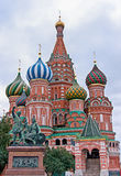 St. Basil's Cathedral on Red Square, Moscow, Russia Royalty Free Stock Image