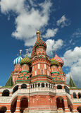 St Basil`s cathedral, Moscow, Russia Royalty Free Stock Images