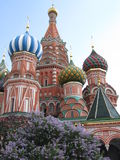 St. Basil's Cathedral, Russia. Royalty Free Stock Image