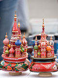 St. Basil's Cathedral souvenir Stock Photography