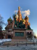 St. Basil`s Cathedral royalty free stock images