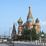 St. Basil's Cathedral. Stock Photo