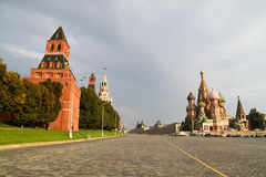 St Basil's Church. On the Red Square in Moscow Royalty Free Stock Image