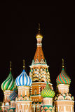 St Basil's Church. On the Red Square in Moscow stock photography