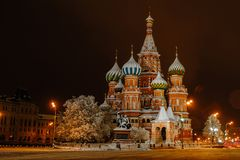 St Basil`s Church royalty free stock image