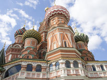 St Basil& x27; s Kathedraal op Rood Vierkant in Moskou, Rusland royalty-vrije stock fotografie