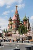 St. Basil`s Pokrovsky Cathedral. Stock Photography