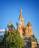 St Basil's cathedra, Red Square, Moscow, Russia Royalty Free Stock Images