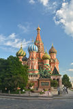 St. Basil's Cathedral, Moscow. Stock Photos