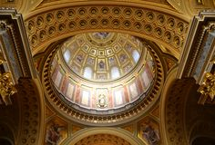 St, basilica di Stephens Fotografie Stock Libere da Diritti