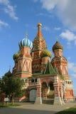 St Basilico Blazhenova a Mosca Fotografia Stock