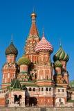 St Basilicum - Moskou Royalty-vrije Stock Afbeelding