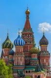 St. basilicumkathedraal, Moskou, Rusland Royalty-vrije Stock Foto's