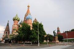 St. basilicums Kathedraal. Rood vierkant. Moskou. Stock Fotografie
