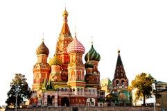 St. Basilikadomkyrka, röd fyrkant Royaltyfri Fotografi