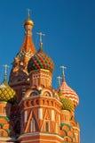St-basilikadomkyrkan i rött kvadrerar, Moscow Royaltyfria Bilder