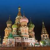 St-basilikadomkyrkan som är röd kvadrerar, Moscow Royaltyfri Foto