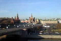 St-basilikas domkyrka (den Pokrovsky domkyrkan) Royaltyfria Foton
