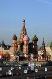 St-basilikas domkyrka (den Pokrovsky domkyrkan) Arkivfoton