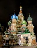 St Basilikum-Kathedrale Lizenzfreies Stockfoto