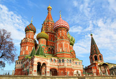 St. Basils Cathedral Royalty Free Stock Images