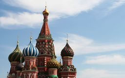 St.Basils cathedral,Moscow Stock Photos