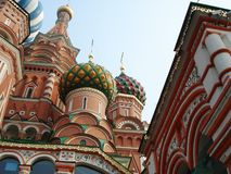 St. Basils Cathedral - Moscow  Red square Royalty Free Stock Photography
