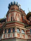 Russian famous St. Basils Cathedral  temple Royalty Free Stock Photography