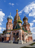 St.Basils Cathedral, Moscow, Russia Stock Photography
