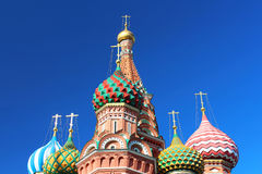 St. Basils cathedral in Moscow, Russia Royalty Free Stock Photos