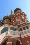St Basils Cathedral, Moscow. The side of St Basils, Moscow, Russia Royalty Free Stock Image