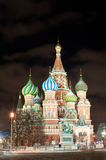 St Basils Cathedral in Red Square Stock Image