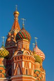 St Basils Cathedral in Red Square, Moscow Royalty Free Stock Images