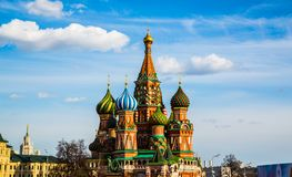 St Basils cathedral Royalty Free Stock Images