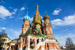 St Basils cathedral Royalty Free Stock Photography
