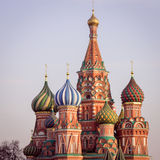 St Basils cathedral on Red Square in Moscow Royalty Free Stock Photo