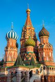 St Basils cathedral on Red Square in Moscow Royalty Free Stock Photos