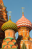 St Basils cathedral on Red Square in Moscow Royalty Free Stock Images