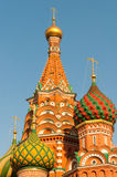 St Basils cathedral on Red Square in Moscow Stock Photo