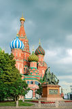 St Basils Cathedral on the Red square Royalty Free Stock Photos