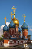 St. Basils cathedral on Red Square in Moscow Stock Photography