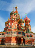 St Basils cathedral on Red Square in Moscow Royalty Free Stock Photography